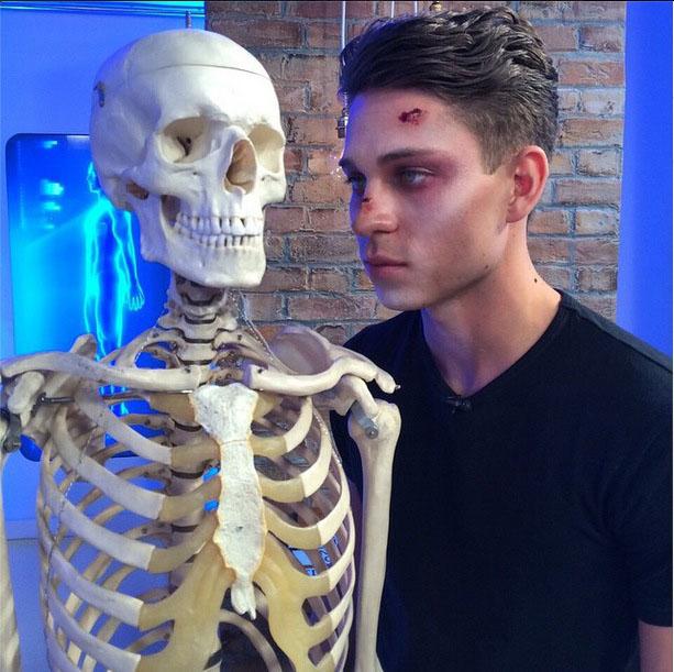 Joey Essex talks Halloween on This Morning