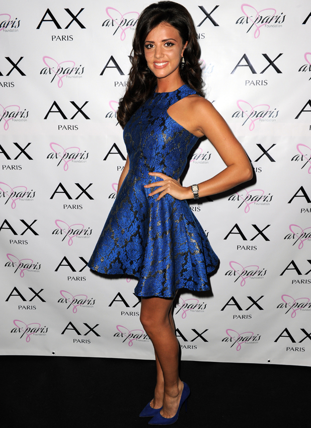 Lucy Mecklenburgh at AX Paris Charity Ball on 29 October 2014