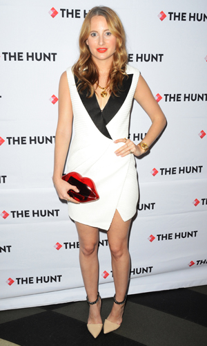 Rosie Fortescue at launch of The Hunt on 28 October 2014