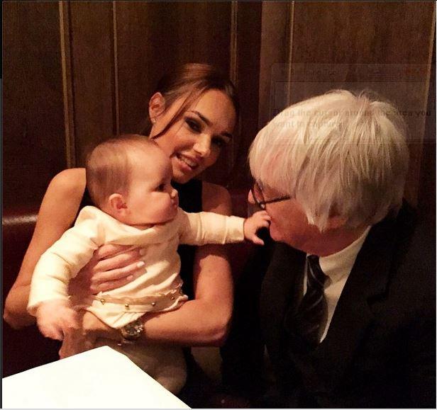 Tamara Ecclestone shares snap of daughter Sophia grabbing her grandfather Bernie Ecclestone's glasses