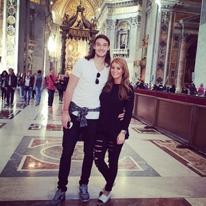 Billi Mucklow enjoys birthday trip to Rome with Andy Carroll 2 November