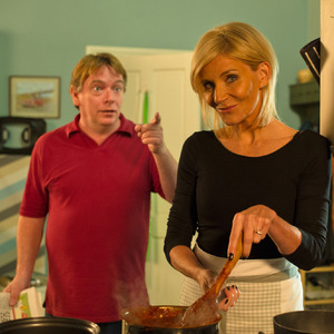 EastEnders BBC Children In Need sketch - The Ghosts of Ian Beale - 14 November 2014. Cindy Beale and Ian Beale.