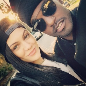 Jessie J seemingly confirms new romance by sharing cute Instagram photo with US singer Luke James - 3 November 2014.