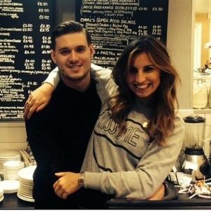 TOWIE's Ferne McCann cuddles up to boyfriend Charlie Sims in new Instagram photo - 3 November 2014.