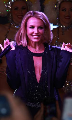 Britney Spears celebrates 'Britney Day' with fans, Las Vegas 5 November