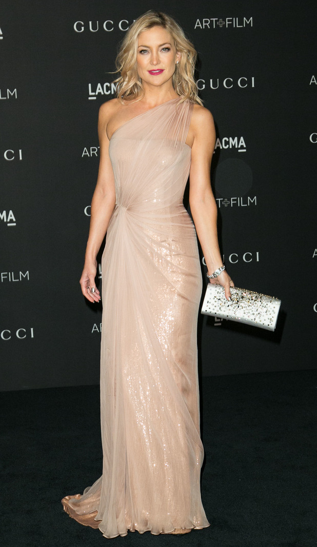 Kate Hudson attends the 2014 LACMA Art + Film Gala in Los Angeles, America - 1 November 2014