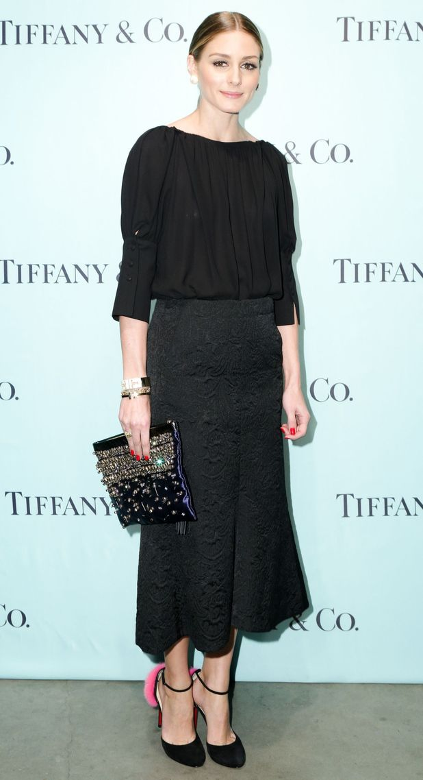 Olivia Palermo attends the Tiffany T jewellery collection launch in New York, America - 6 November 2014