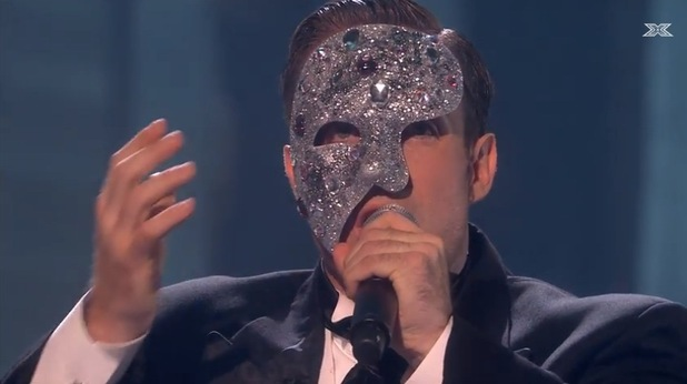 Stevi Ritchie performs Music Of The Night on The X Factor - 3 November 2014