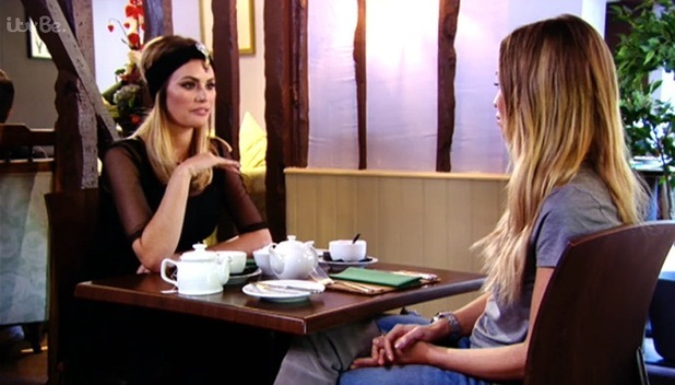 Chloe Sims and Lauren Pope, TOWIE 2 November