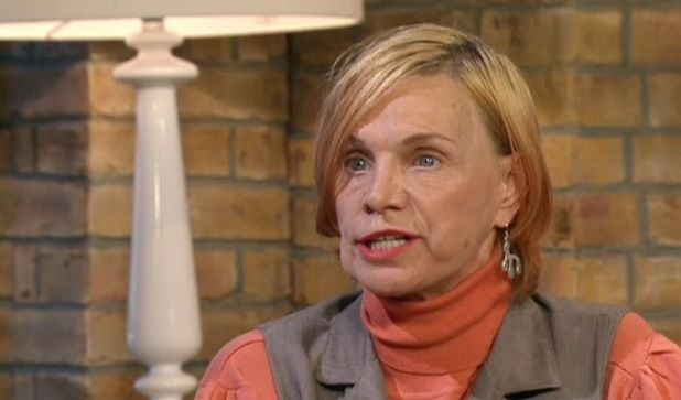 Jackiey Budden appears on This Morning, ITV 6 November