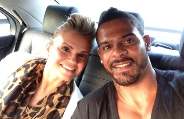Kerry Katona and husband George Kay, London 4 November