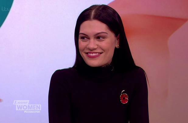 Jessie J on ITV's Loose Women - 6 November 2014.