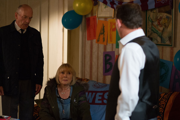 EastEnders, Pam confesses to Billy, Mon 10 Nov
