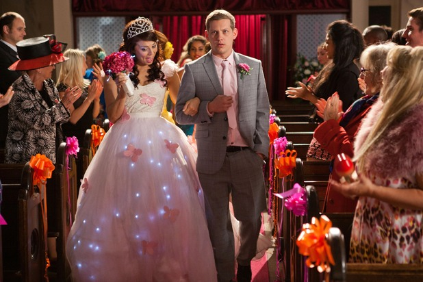 Hollyoaks, Lockie and Porsche get married, Mon 10 Nov