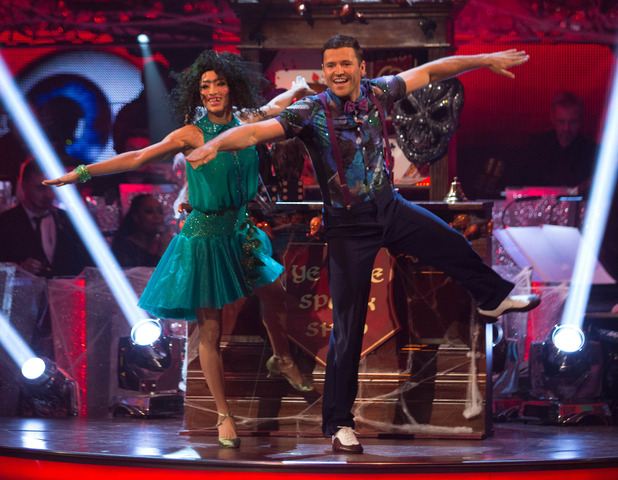 Strictly Come Dancing - Mark Wright on the live shows. 01/11/2014.