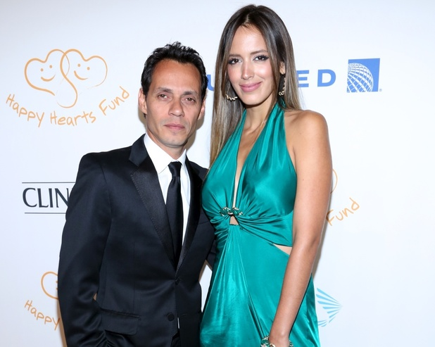 Marc Anthony and Shannon De Lima at the 2012 Happy Hearts Fund Land of Dreams: Mexico Gala at the Metropolitan Pavilion. 5 November.