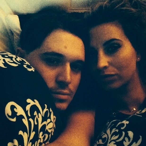 TOWIE's Charlie Sims and Ferne McCann enjoy an early night together - 7 Nov 2014
