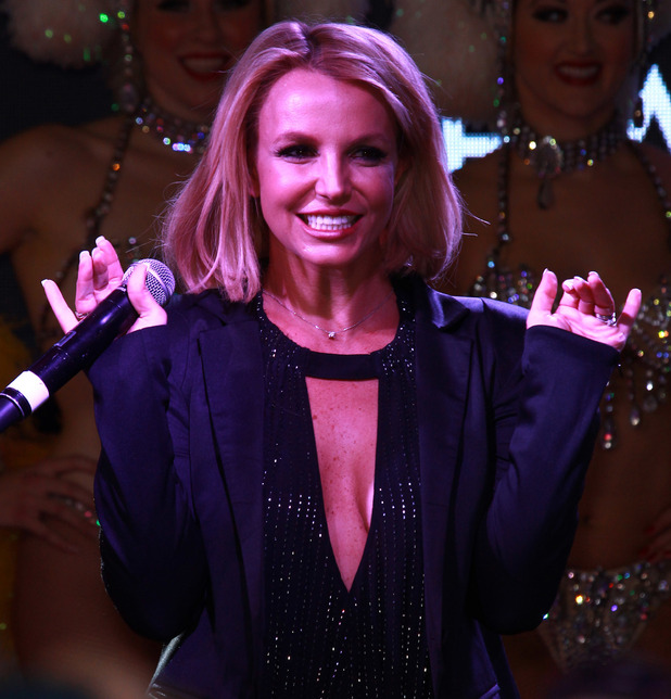 Britney Spears celebrates 'Britney Day' with fans, Las Vegas 5 November