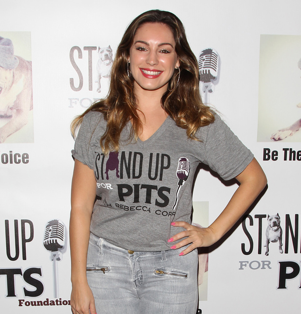 Kelly Brook attends Stand Up For Pits charity event, Hollywood 2 November
