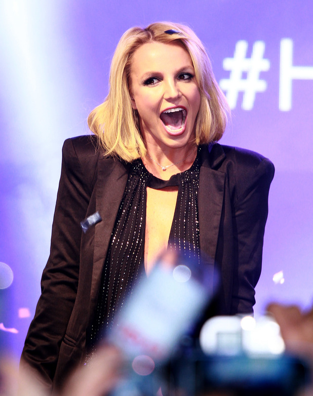 "Britney Spears given the key to the Las Vegas Strip and November 5th declared ""Britney Day"" at the The LINQ Promenade. 5 November 2014."