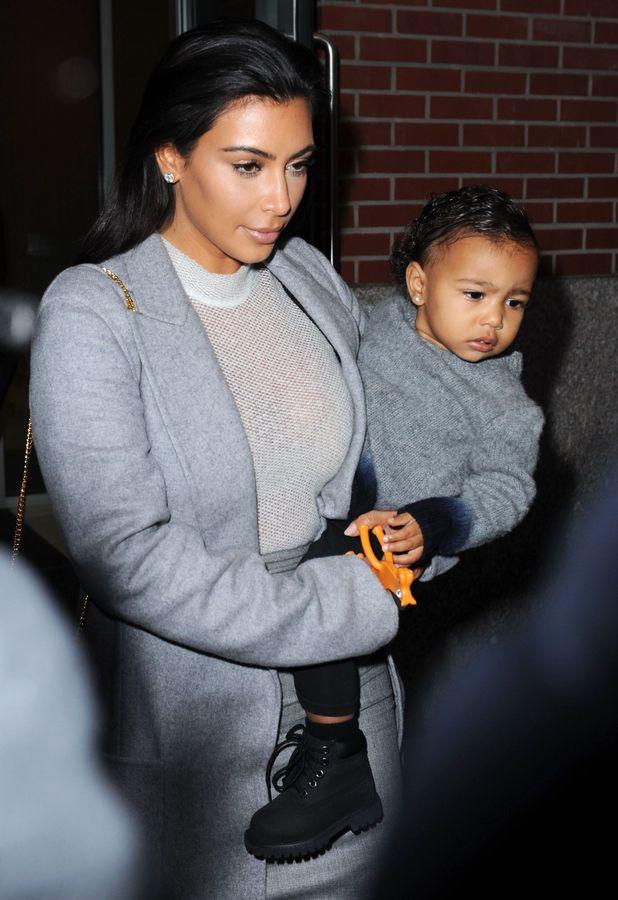 Kim Kardashian and North West, New York - 07 Nov 2014