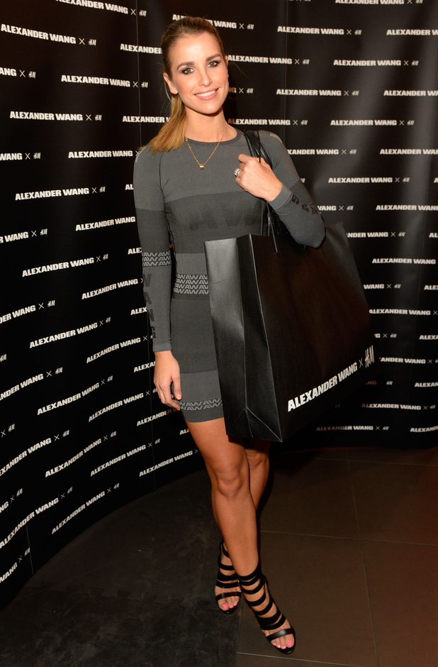 Vogue McFadden attends a VIP shopping party for the launch of the Alexander Wang x H&M collection - 5 November 2014
