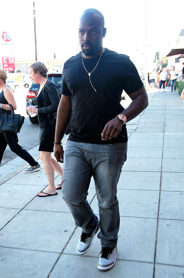 Corey Gamble with Kris Jenner, Kourtney and Khloe Kardashian out and about, Los Angeles, America - 06 Nov 2014