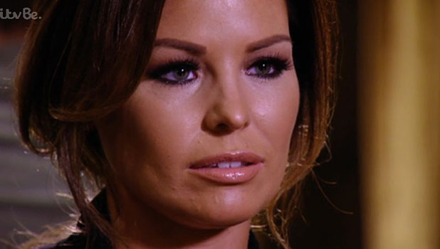 TOWIE: Jessica Wright and Ricky Rayment meet for an emotional post-split conversation, episode aired 5 November 2014