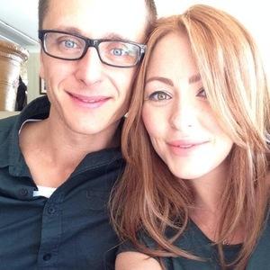 Natasha Hamilton and partner Ritchie Neville 23 August