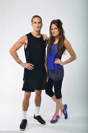 Alexandra 'Binky' Felstead and Oliver Proudlock promote MIC:FIT video - 14 Nov 2014