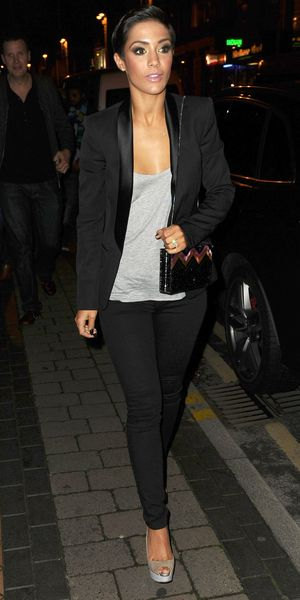 Frankie Bridge arrives at the Strictly Come Dancing after party in Blackpool, 15 November 2014