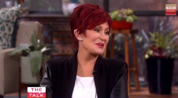 Sharon Osbourne talks about new episodes of The Osbournes on The Talk chat show - 11 November.