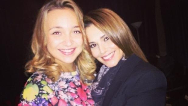 Lauren Platt and Cheryl Fernandez-Versini 13 November