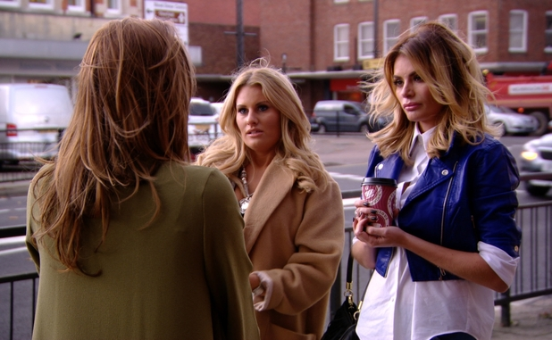 The Only Way Is Essex - Ferne explains herself to Chloe and Danielle - 12 November 2014.