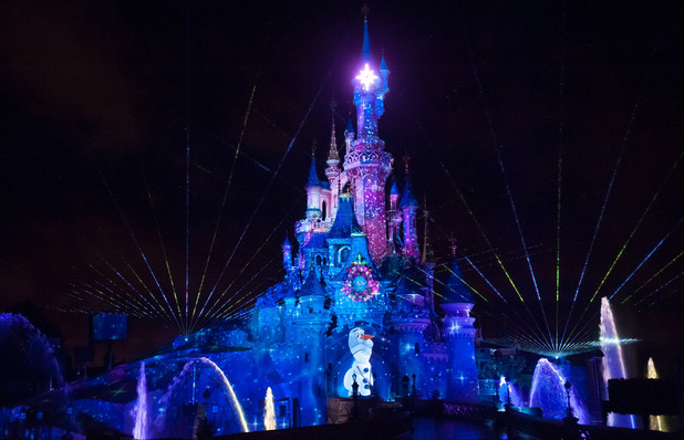 Disney Dreams show at Disneyland Paris. November 2014.
