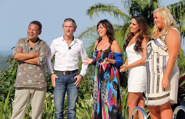 Gemma Collins meets other celeb contestants in Team B as I'm A Celebrity kicks off in Australia... 14 November 2014