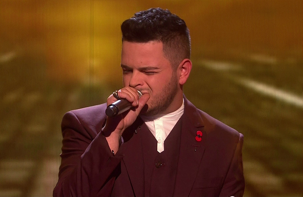 Paul Akister is sent home after the judges vote on 'The X Factor - The Results', Shown on ITV1 HD - 9 November 2014.