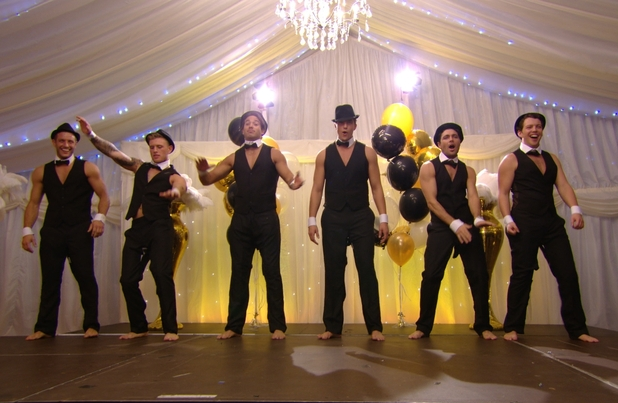 TOWIE's boys stripping at Bobby Norris charity fundraiser - aired 12 November 2014.