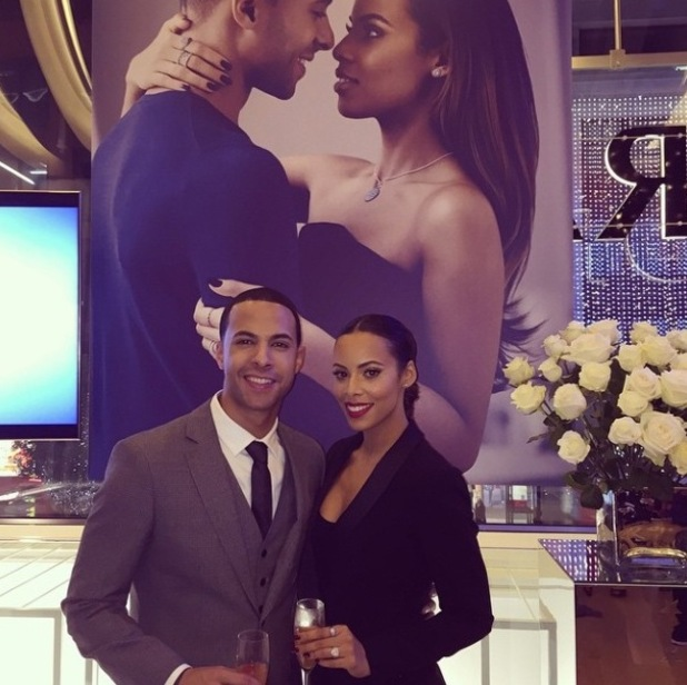 Marvin Humes, Rochelle Humes at the Pandora Wishes launch campaign- 12 November.