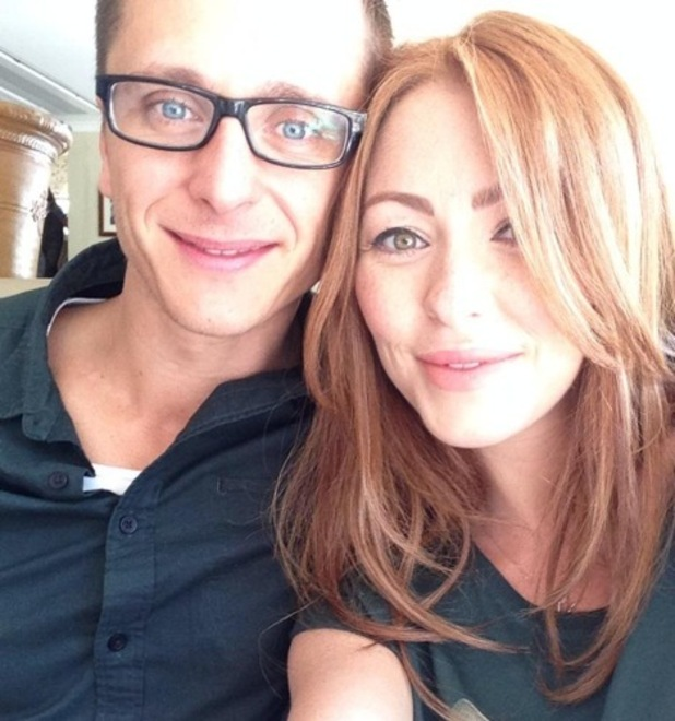 Natasha Hamilton and partner Ritchie Neville 23 August