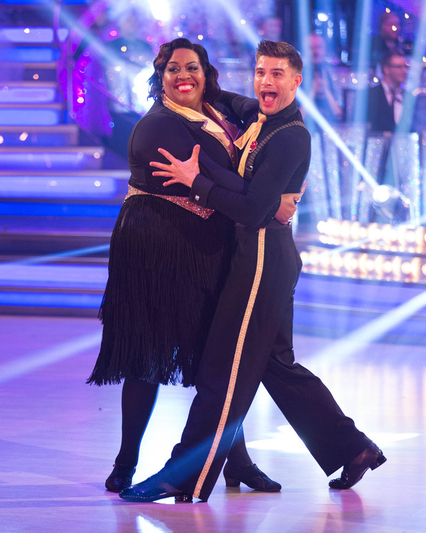 Alison and Alijaz on Strictly Come Dancing results show - Sunday 9th November 2014