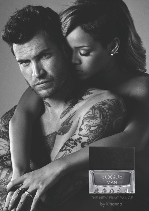 Rihanna launches her first-ever male fragrance, Rogue Man - November 2014