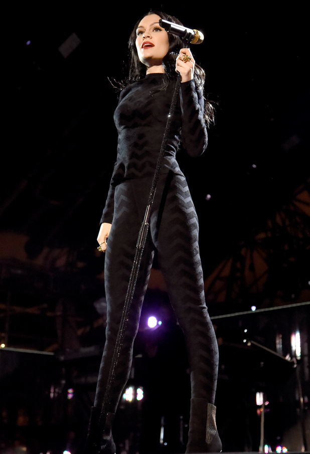 Jessie J performs onstage during 'The Concert For Valor' at The National Mall on November 11, 2014 in Washington, DC.