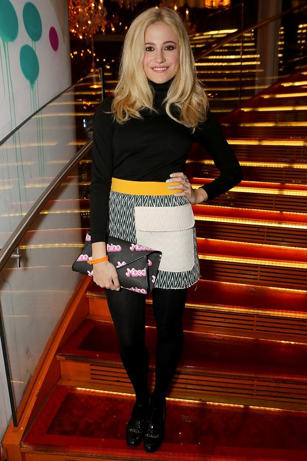 Pixie Lott attends SUSHISAMBA's second birthday party - London, England - 11 November 2014