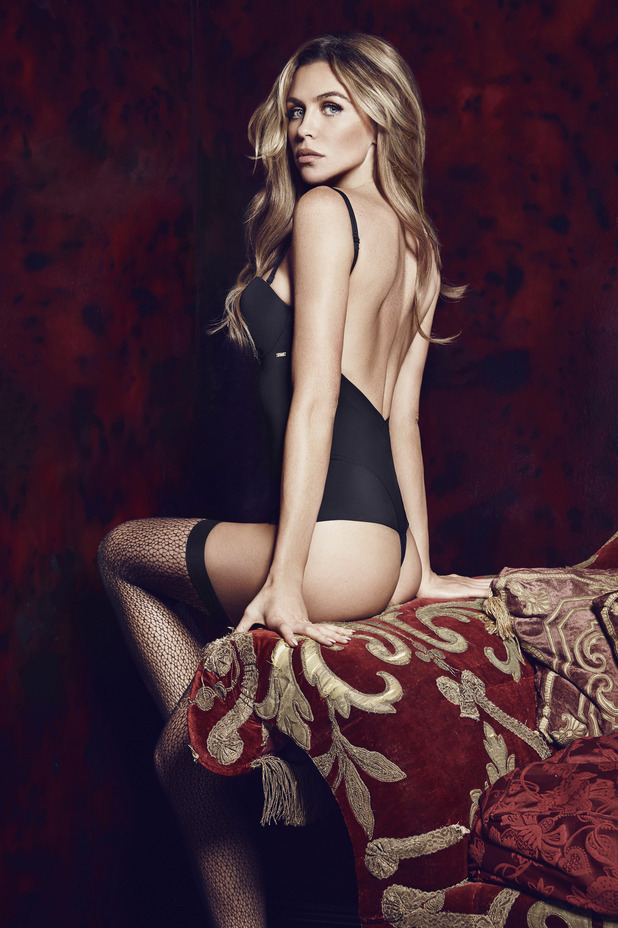 Abbey Clancy models the new Ultimo 'Party Solutions' collection - 11 November 2014