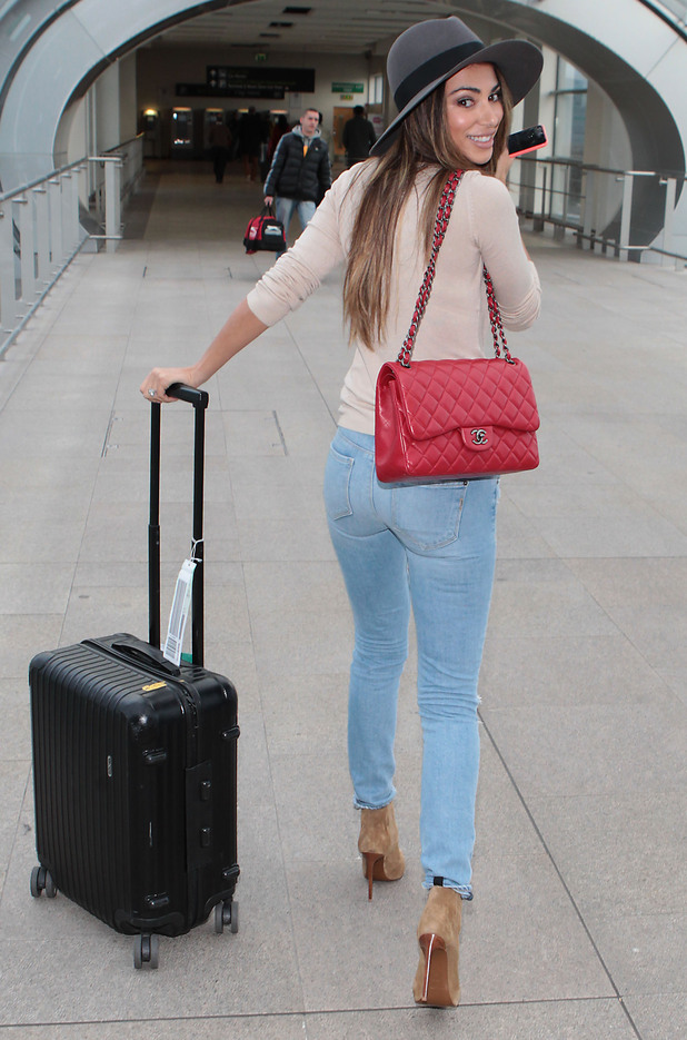 Georgia Salpa arrives at Dublin airport in Ireland - 12 November 2014