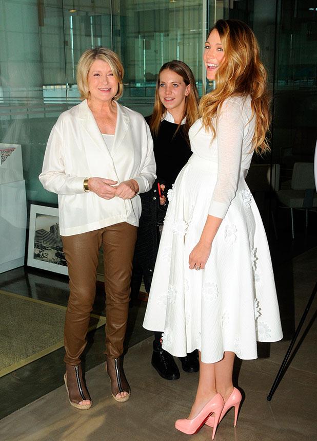 2014 American Made Summit: Martha Stewart one on one with Blake Lively, 8 November 2014