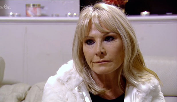 TOWIE: Carol Wright visits Ricky Rayment after receiving his letter, episode aired 9 November 2014
