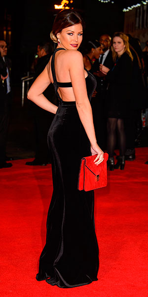 Jessica Wright at The Hunger Games: Mockingjay Part 1 World Premiere at Odeon Leicester Square - Arrivals, 10 November 2014