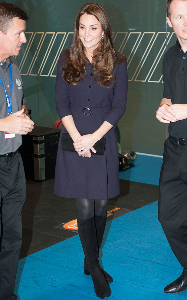 Catherine, Duchess of Cambridge, Patron of SportsAid meets potential young athletes at a SportsAid workshop at the GSK Human Performance Laboratory on November 12, 2014 in West London, England.